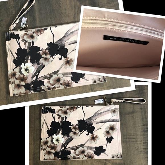 White House Black Market NWT Handbag Dusty Rose